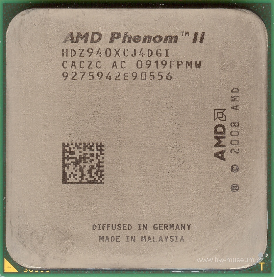 Amd Phenom Ii X4 940 Black Edition Hardware Museum