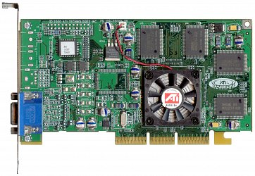 ATi Radeon 256 DDR (front side)