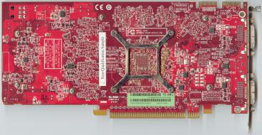 ATi Radeon HD 3850 256 MB (back side)