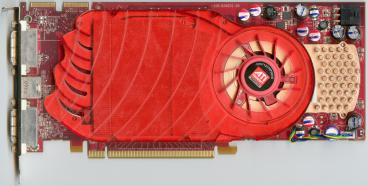 ATi Radeon HD 3850 256 MB (front side)