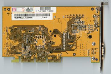 Asus GeForce2 MX (DVI PCB) (back side)