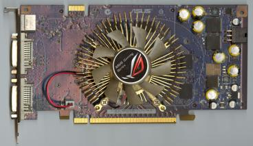 Asus GeForce 8600 GTS (front side)