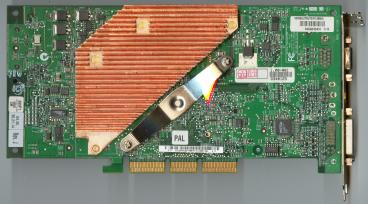 Asus GeForce FX 5800 Ultra (back side)