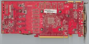 Asus Radeon HD 4870 512MB (back side)