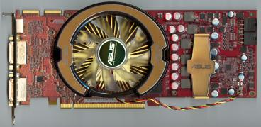 Asus Radeon HD 4870 512MB (front side)