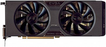EVGA GeForce GTX 780 (front side)