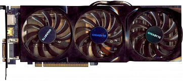 Gigabyte Radeon HD 6950 OC (1 GB) (front side)