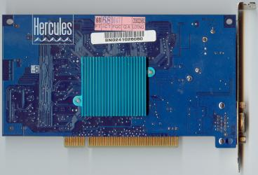 Hercules Kyro PCI (back side)