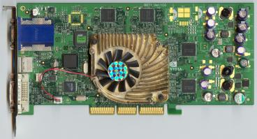 MSI GeForce4 Ti 4400 (front side)