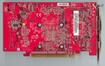 Medion GeForce 6700 XL (back side)