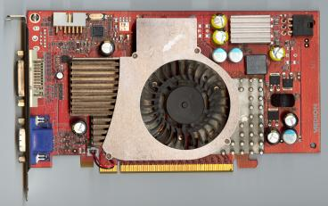 Medion GeForce 6700 XL (front side)